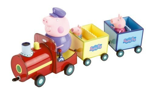 Peppa Pig on Grandpa Pigs Train