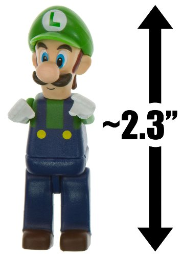 "Luigi ~2.3"" Mini-Figure - K'NEX Mario Kart Building Set - 1"