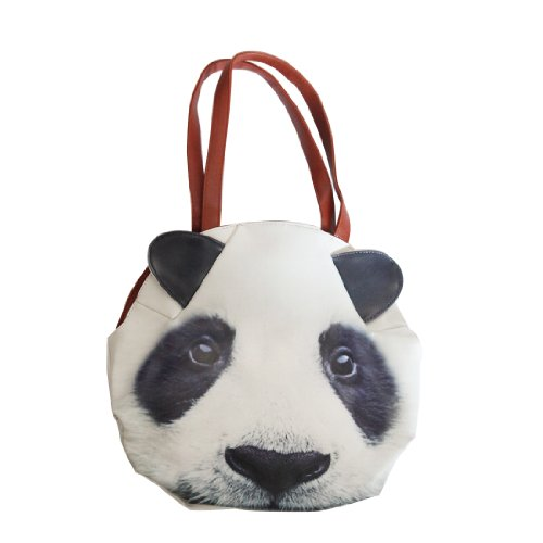 Beau Corner Fashion 3D Animal Cute Panda Shoulder Bag Handbag Tote