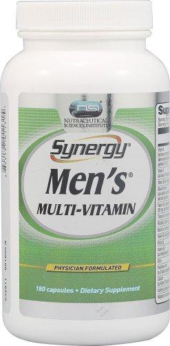 Vitacost Synergy Men'S Multi-Vitamin -- 180 Capsules