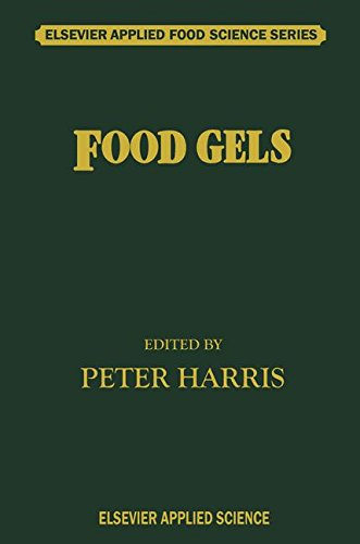 Food Gels (Elsevier Applied Food Science Series), by Peter Harris
