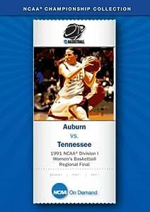 1991 NCAA(r) Division I Women's Basketball Regional Final - Auburn vs. Tennessee