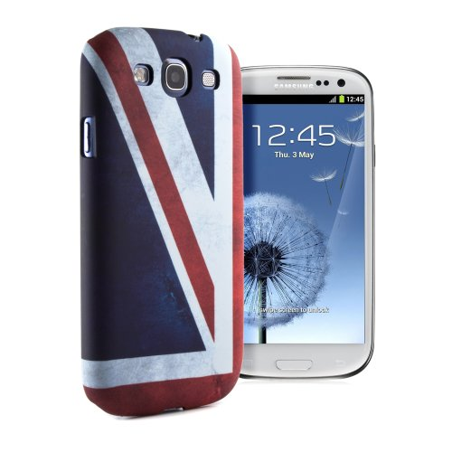 Proporta Samsung Galaxy S3 / SIII / I9300 Case with Union Jack British Flag - Hard Shell Snap-On Back Cover