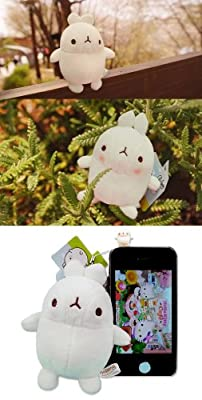 Korea Drama Goods Dignity of Gentleman - Molang Doll Cellphone Strap (COPM072)