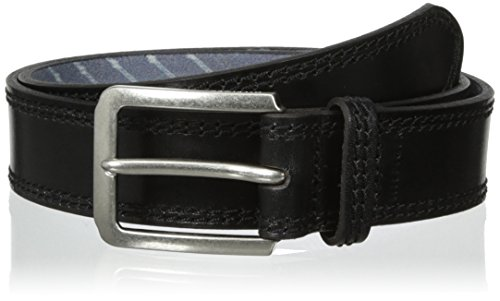Tommy-Hilfiger-Mens-Double-Stitched-Printed-Belt
