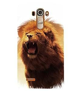 PRINTSHOPPII LION Back Case Cover for LG G4::LG G4 H815