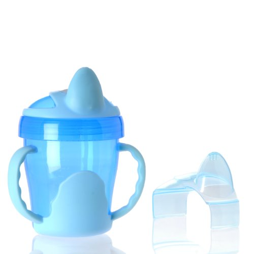 Vital Baby Two Handled Trainer Cup, Blue, 7 Ounce