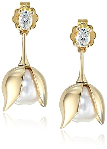 House-of-Eleonore-Paradise-18k-Yellow-Gold-Drop-Orchid-Oval-Pearl-Earrings-15-cttw-F-G-Color-VS1-VS2-Clarity