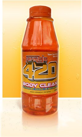 Body Clean Formula 420 Detox Fruit Punch Flavor