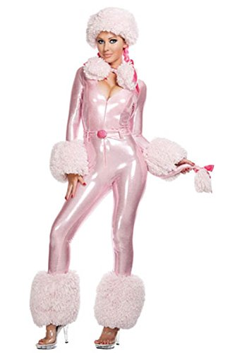 Lover-baby® Sexy Pink Poodle Halloween Animal Furry Costume