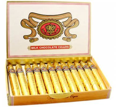 Madelaine Chocolate Company Chocolate Cigars - Gold, 24 Count