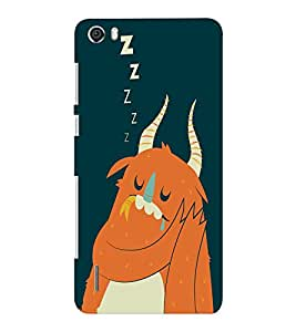 EPICCASE Sleeping monster Mobile Back Case Cover For Huawei Honor 6 Plus (Designer Case)