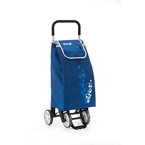 Gimi 1508035020000 Twin Blu Carrello Portaspesa