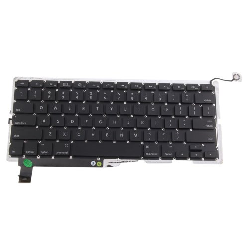 "15"" Laptop Keyboard Replacement For Apple Macbook Pro Unibody A1286 Black"