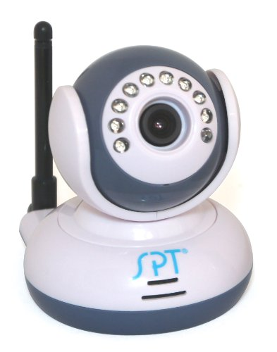 SPT Wireless Camera for SM-1025C Wireless Digital Baby Monitor, White