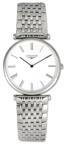 Longines La Grande Classique L47094116 33mm Silver Steel Bracelet & Case Synthetic Sapphire Men's Watch