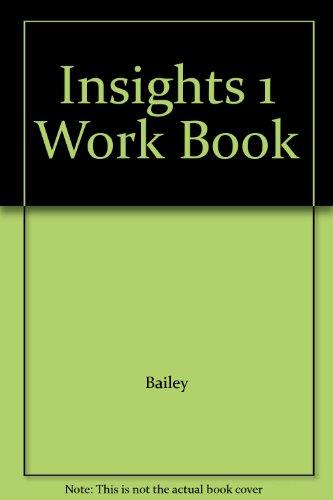 Insights 1 Work Book