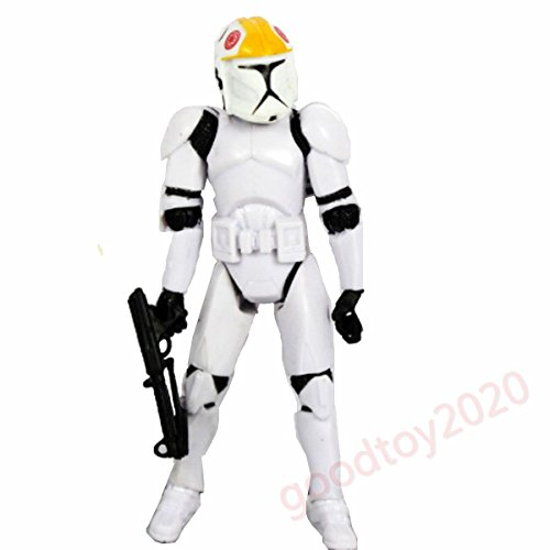 """Hot Star Wars CLONE TROOPERS Commander 3.75"""" Action Figure Collectible"""