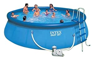 Intex Easy Set 18-Foot by 48-Inch Round Pool Set (Discontinued by Manufacturer)