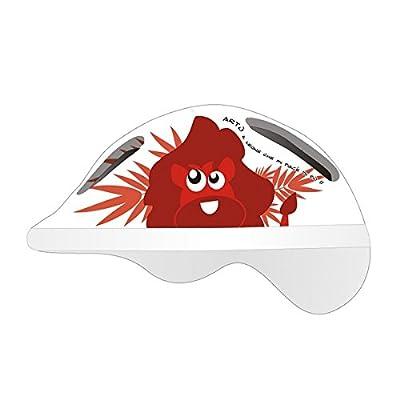 mv-tek Baby Arthur Cycle Helmet XS Red (Baby)/Helmet Bike Helmets Boy Arthur XS Red (Children Helmets) by MV-TEK