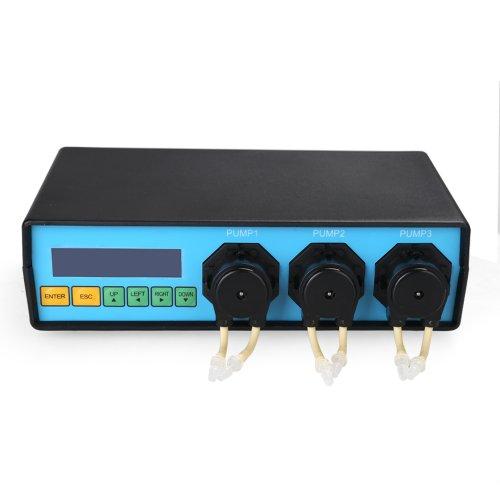 Magicfly Brand New Dosing Peristaltic Metering Pump Triple For Aquarium Lab Reef