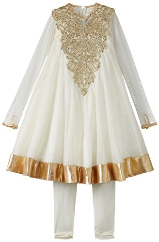 Maya Kidology In-House Collection By Maya Nocon Girl's Anarkali Set (Multicolor)