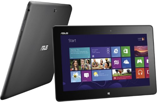Asus VivoTab ME400CL 25,7 cm (10,1 Zoll) Tablet-PC (Intel Atom Z2760, 1,6GHz, 2GB RAM, 64GB HDD, PowerVR SGX545, 3G/LTE , Win 8) schwarz