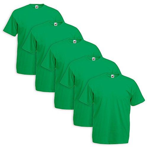 set-5-t-shirt-fruit-of-the-loom-5-pezzi-verde-prato-s-3