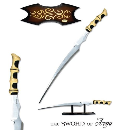 Sword of Arya with Display Stand - Buy Sword of Arya with Display Stand - Purchase Sword of Arya with Display Stand (Eragon, Toys & Games,Categories,Pretend Play & Dress-up,Costumes,Accessories)