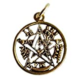 RBI Fortune Telling Toys Tetragrammaton Hebrew Name of God YHWH Amulet Talisman