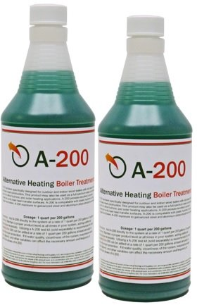 Outdoor Boiler Water Treatment with Rust Inhibitor A200, Treats 400 Gallons (Boiler Additives compare prices)