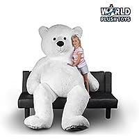 World Plush Toys Giant 8ft. Teddy Bear (Panda Bear/Polar Bear)