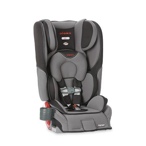Diono Rainier Convertible + Booster Car Seat Graphite front-707554