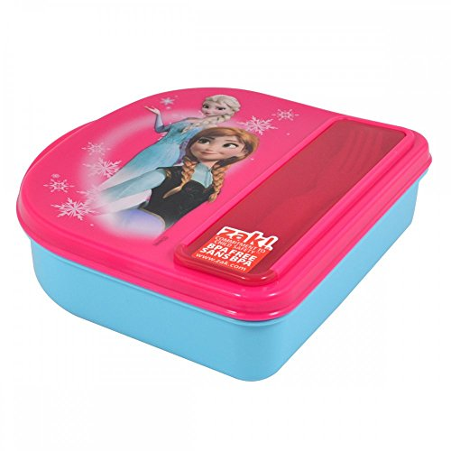 Disney Frozen Food Storage Container w/ Fork & Spoon By ...
