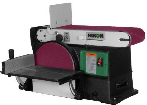 RIKON 50120 6by48Inch Belt 10Inch Disc Sander