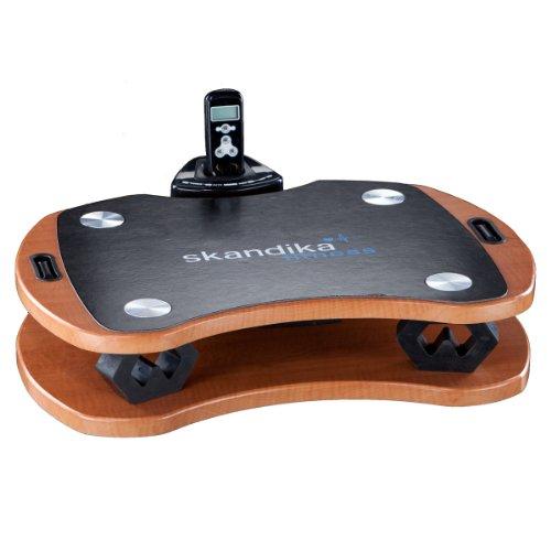 Skandika Plataforma vibratoria 300 - Plataforma vibratoria unisex (color marrón)