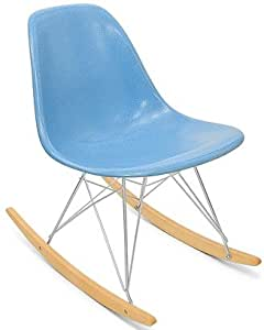 Rocker Side Shell Chair Modernica Fiberglass Rockers Furniture