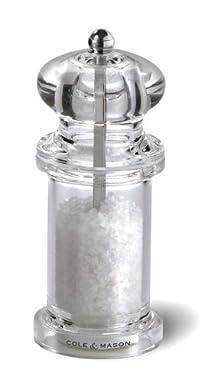Cole and Mason 505 Acrylic Salt Mill