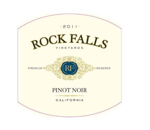 2011 Rock Falls Premium Reserve Pinot Noir, California 750 Ml