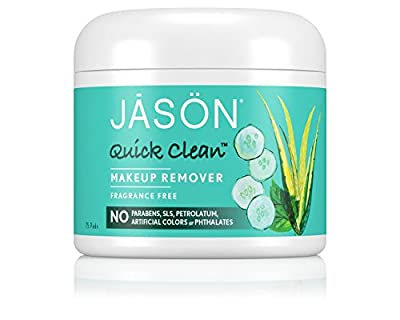 JASON NATURAL PRODUCTS, Quick Clean Makeup Remover - 75 pads ( Multi-Pack)