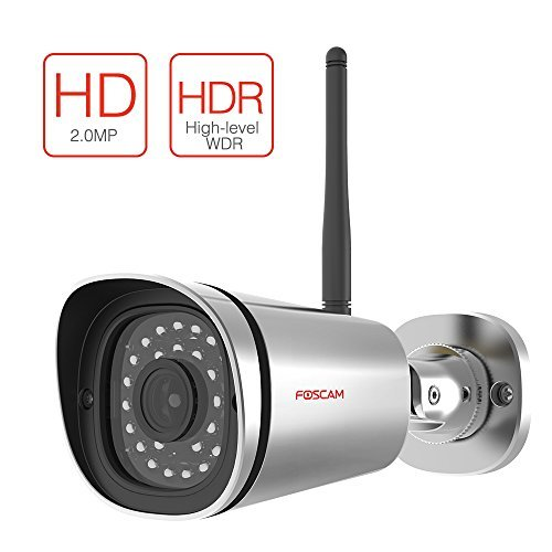 Buy Bargain Foscam FI9900P Outdoor HD 1080P Wireless Plug and Play IP Camera (Silver)