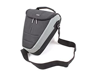 DURAGADGET Large Holster / Top-loader case / Bag / For Digital SLR Cameras (Large Zoom Lenses) Compatible with Pentax K-m / K110D / *istDL / *istDS / *istD / Pentax K10D Grand Prix / K100D Super / K100D / KD10 / KD110 / *istDL2 / K20D / K200D / K-m / K110D / *istDL / *istDS / *istD / X70 / K-7 / K-x / K-x Pentax K-7 / K-x / K20D/ KD200D / K-7 / X70 / K10D / K20D / MZ7 /