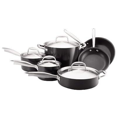 Anolon Titanium Hard Anodized Nonstick 10-Piece Cookware set