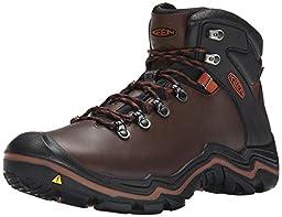 KEEN Men\'s Liberty Ridge Outdoor Boot, Bison/Gingerbread, 11.5 M US