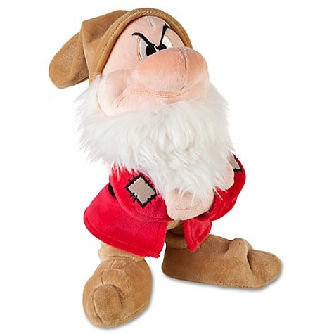 "Disney Store Snow White And The Seven Dwarfs 11"" Grumpy Plush Doll"
