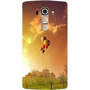 Casotec Meadowns Design Hard Back Case Cover for LG G4