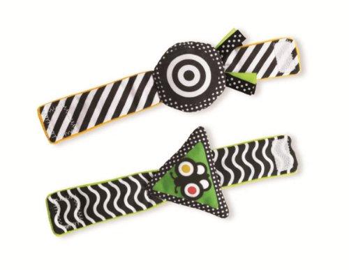 Manhattan Toy Wimmer-Ferguson Reversible Wrist Rattle Set - 1