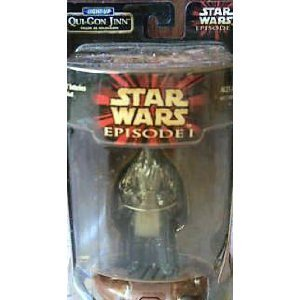 Star Wars Episode I Light-Up Qui-Gon Jinn Figure as Holograph
