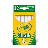 2 X Crayola - Anti Dust White Chalk
