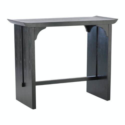 Cheap Cyan Design 01765 Distressed Black with Red Accents Decorative Furniture 32.75″ Lotus Console Table from the Decorative Furniture Collection (B003DFBFGC)